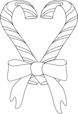 christmas candy cane. latest sugar skull coloring page design free ...