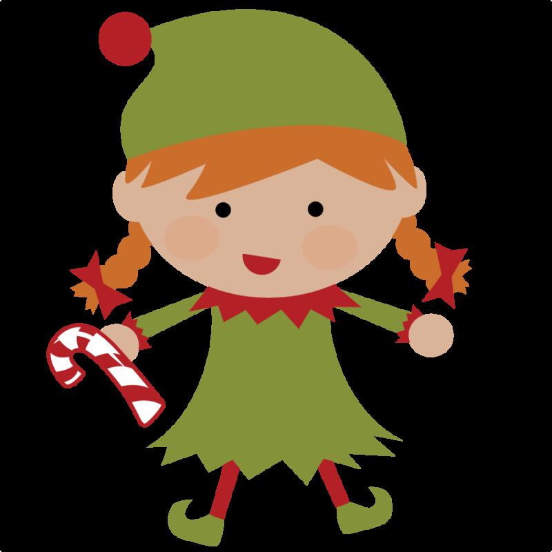 Christmas Elves Clipart - Clipart Kid