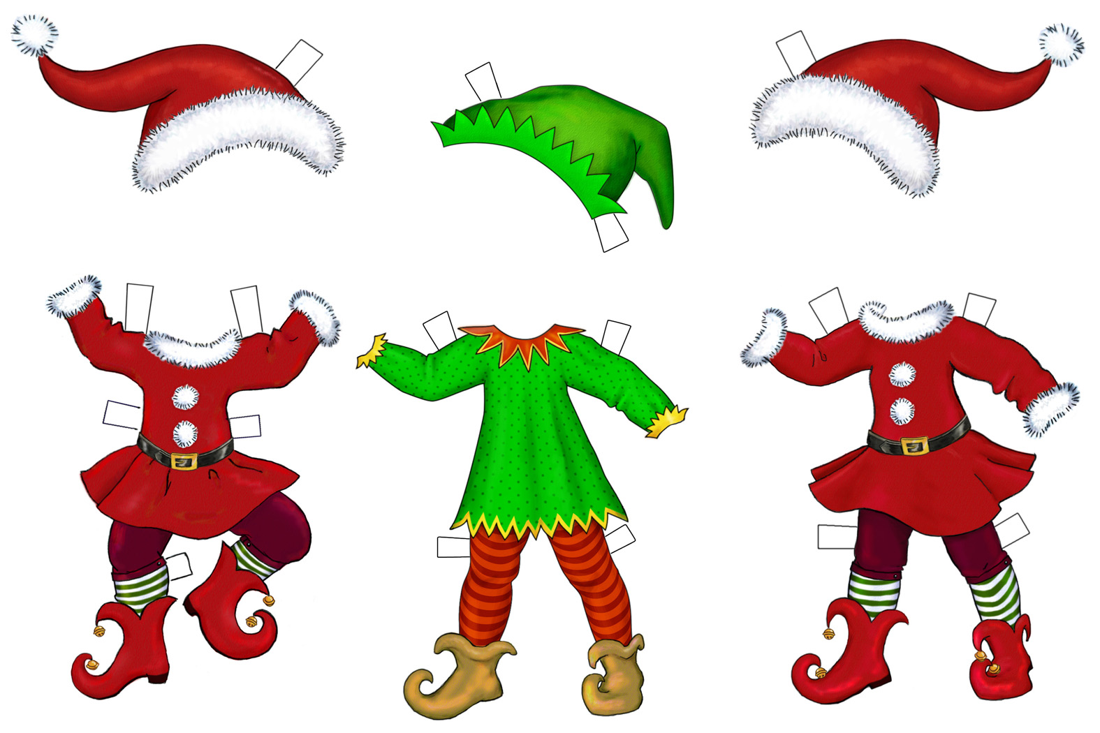 Christmas Elves Pictures   Clipart Best