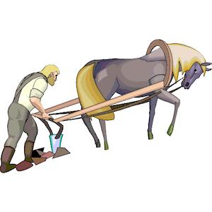 Farm Plow Clipart - Clipart Kid
