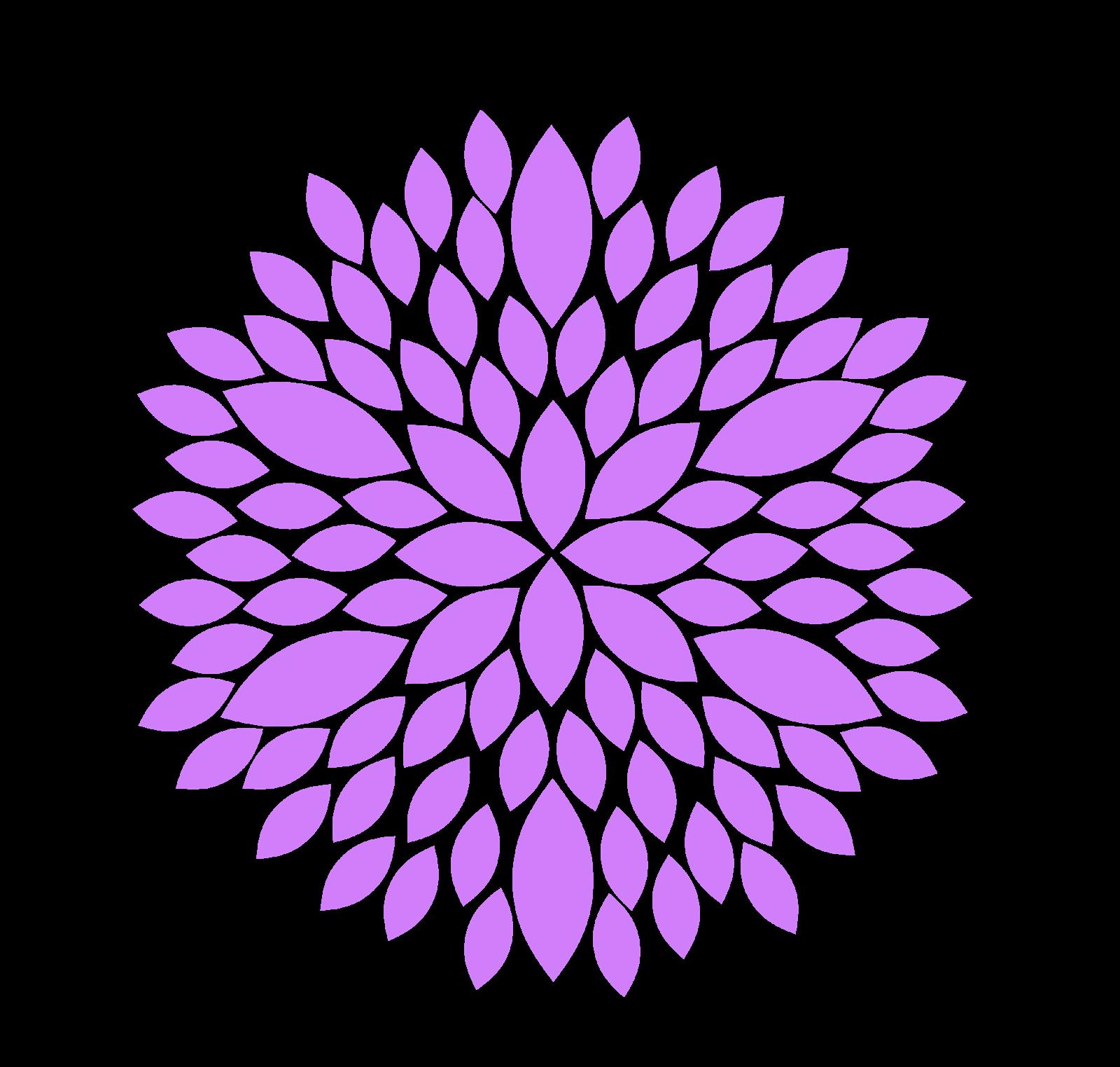 Modern Flower Burst Clipart - Clipart Kid