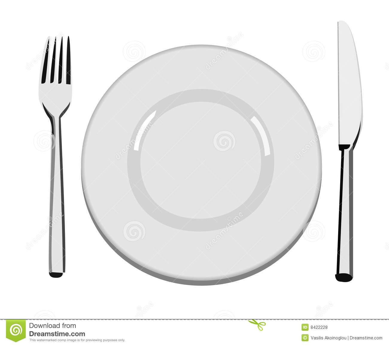 Full Dinner Plate Clipart Dinner Plate