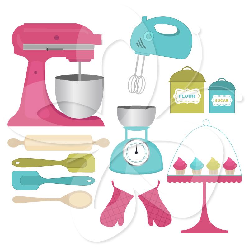 Baking Mixer Clipart - Clipart Kid
