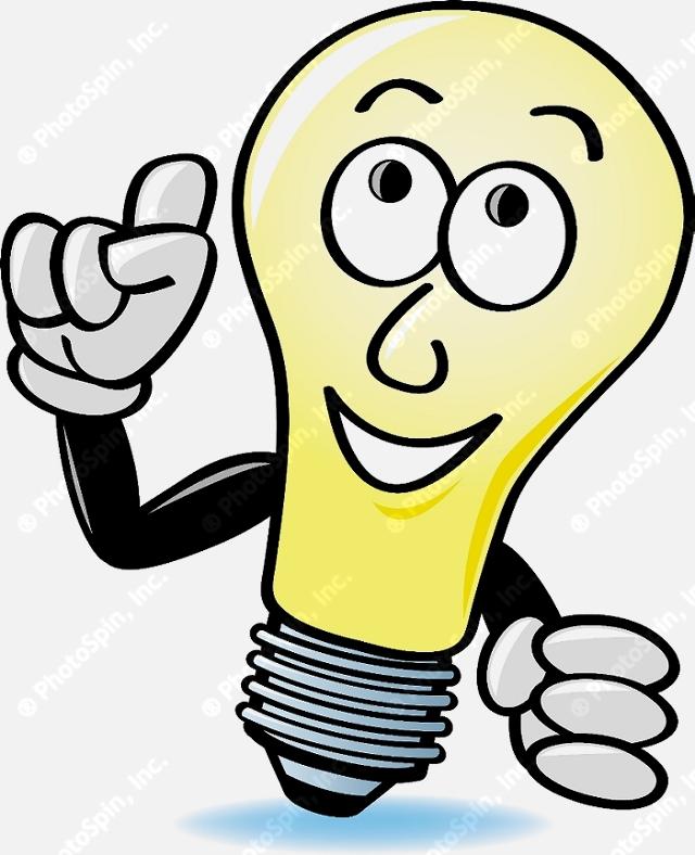 Bright Idea Light Bulb Clipart - Clipart Suggest