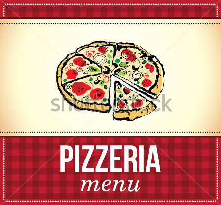 Menu De Pizza Clip Arts   Clipartlogo Com