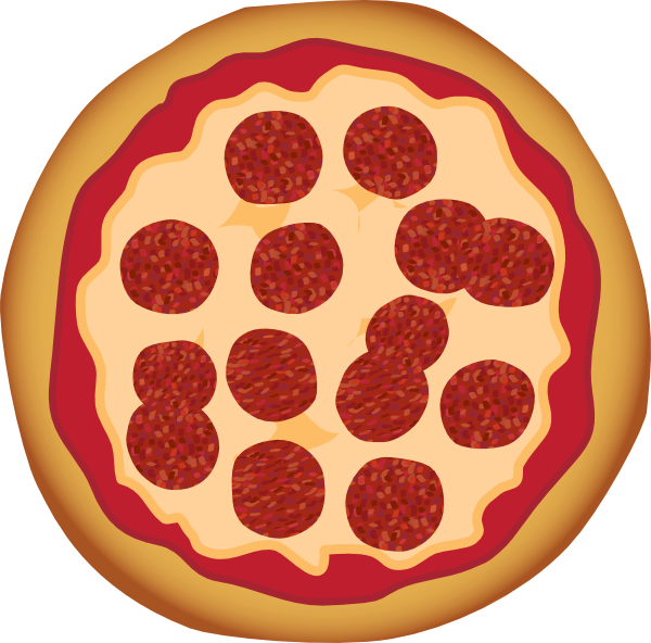 Pepperoni Pizza Clip Art At Clker Com   Vector Clip Art Online