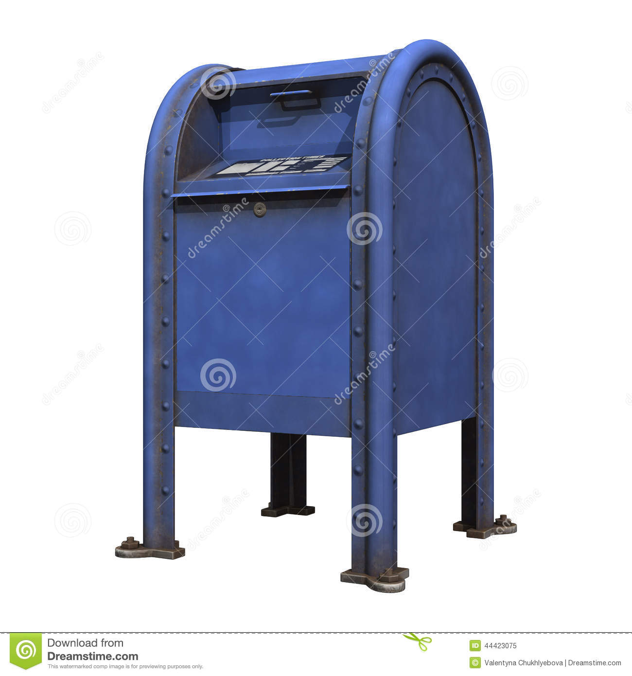Post Office Mailbox Clipart Post Office Mailbox Royalty