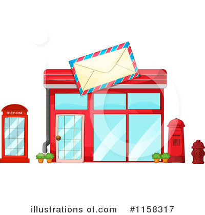 Royalty Free  Rf  Building Clipart Illustration By Colematt   Stock