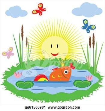 Fish Pond Clip Art �C Cliparts