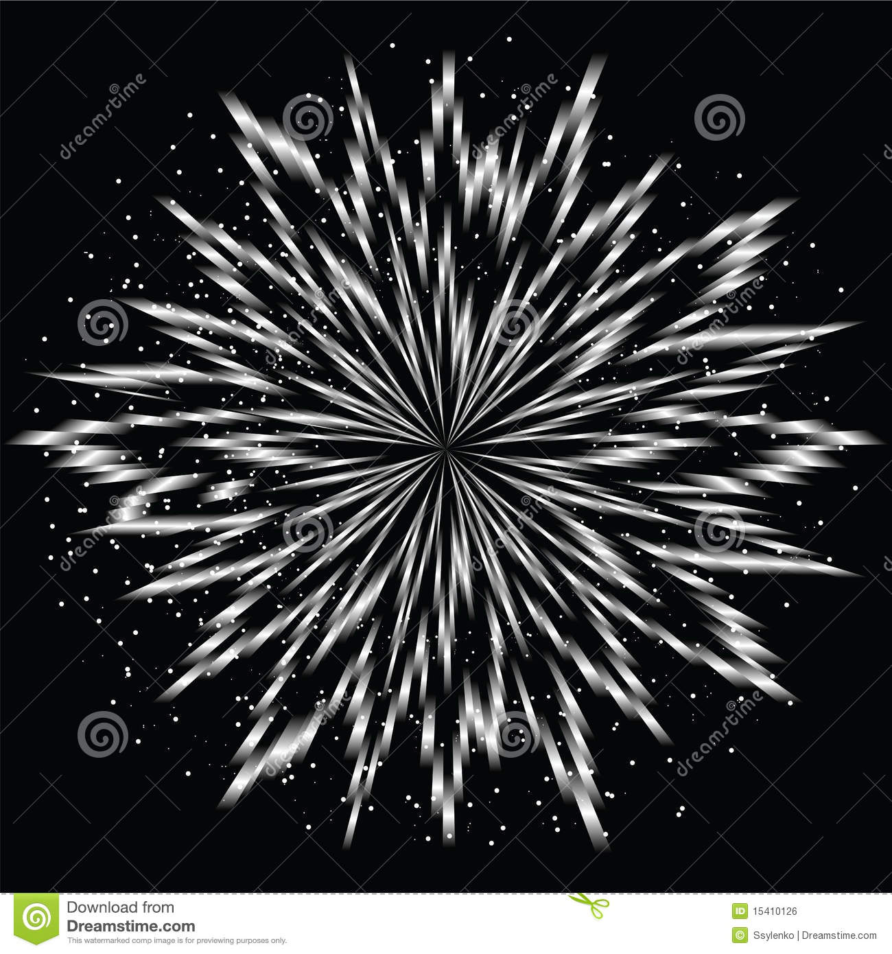 White Flower Burst Royalty Free Stock Image   Image  15410126