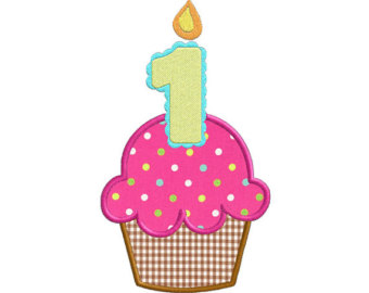 1st Birthday Cupcake Clip Art   Clipart Panda   Free Clipart Images