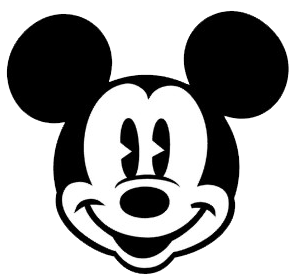 Mickey And Minnie Black And White Clipart - Clipart Suggest
