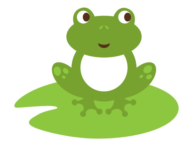 Frog On Lily Pad Clipart   Clipart Panda   Free Clipart Images