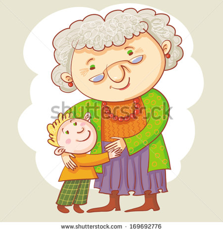 grandma and granddaughter clipart clipart suggest
