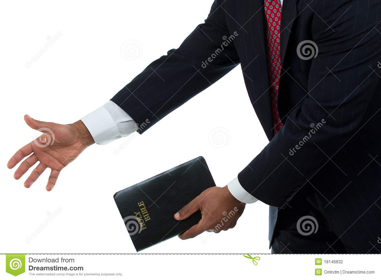 Helping Those In Need With The Word Of God White Background