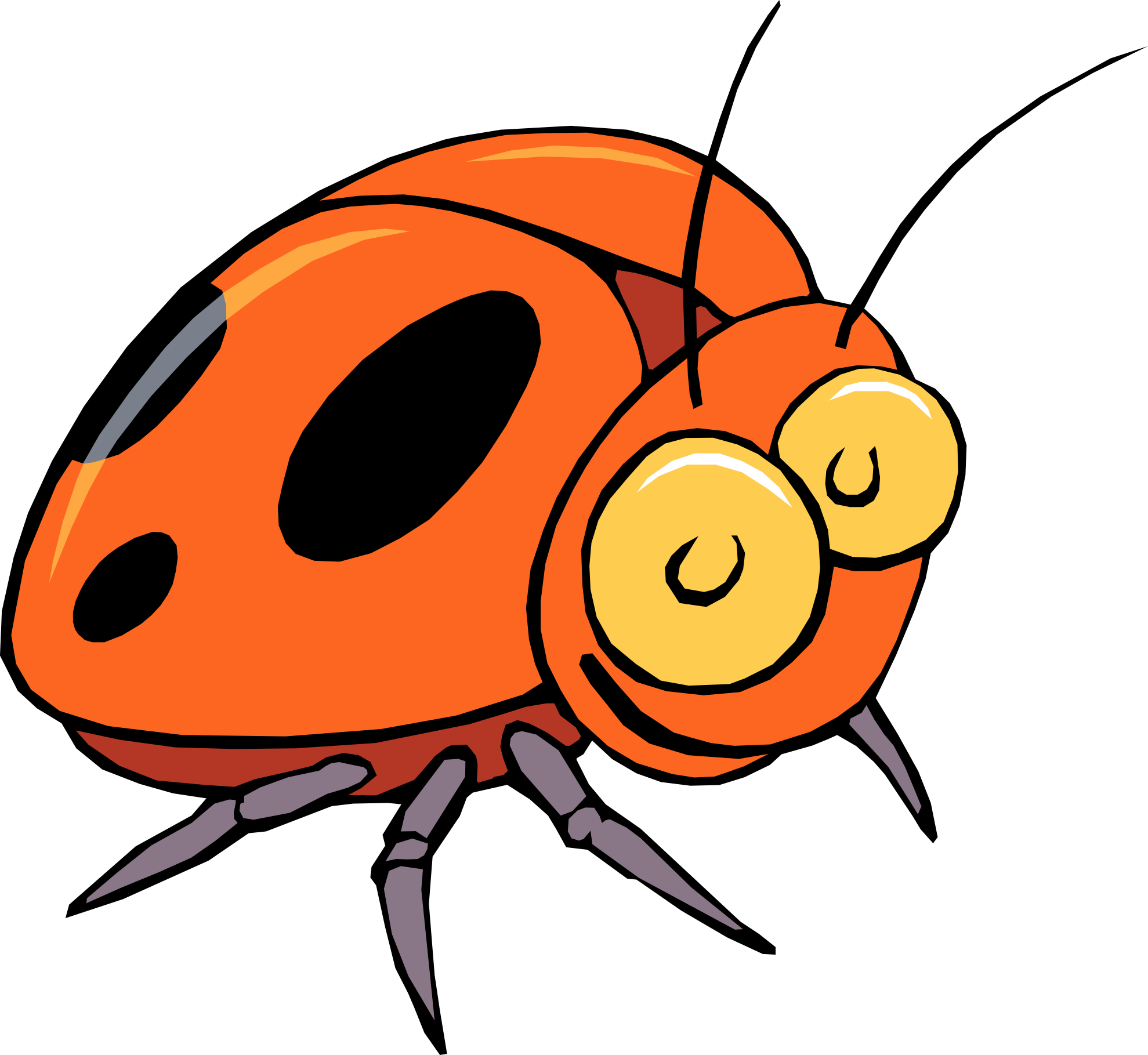 Cartoon Bugs Clipart - Clipart Suggest