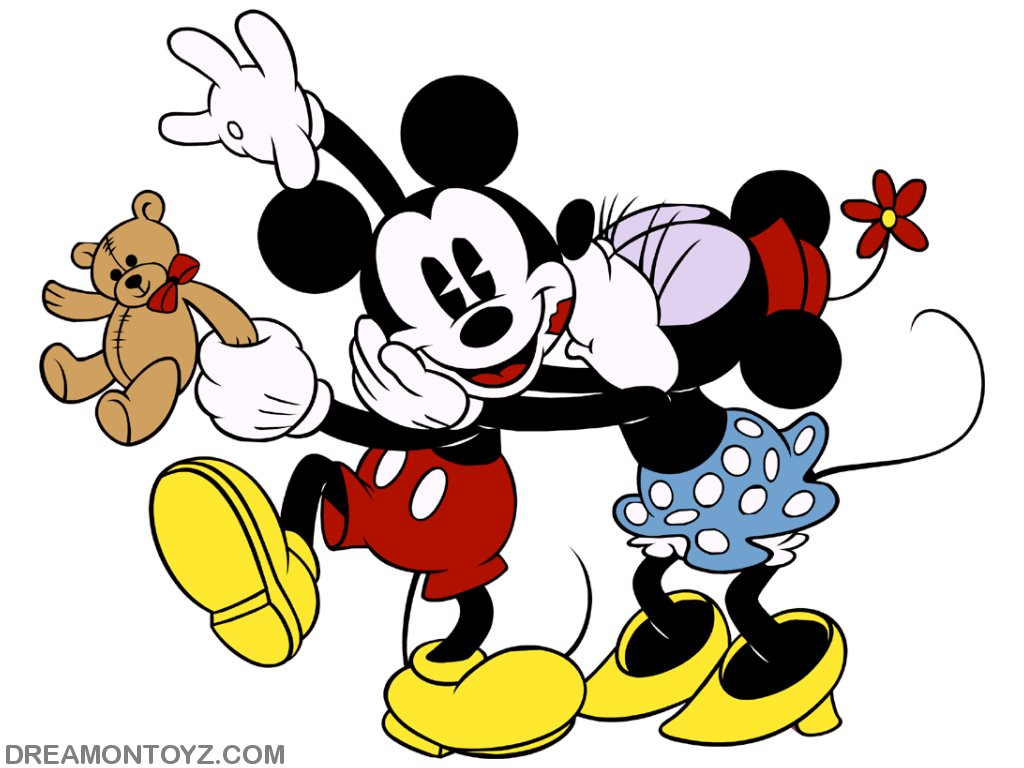 Mickey And Minnie Mouse Clipart