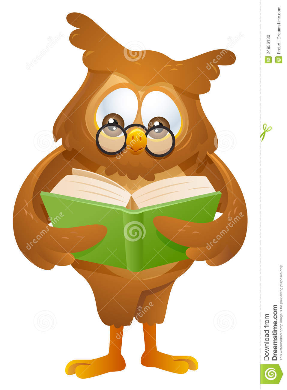 Pink Owl Reading Book Clipart - Clipart Suggest