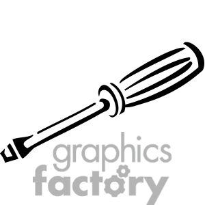 screwdriver black and white clipart clipart suggest