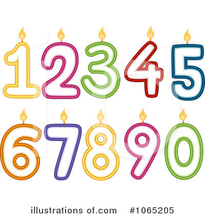 Royalty Free  Rf  Birthday Candle Clipart Illustration  1065205 By Bnp
