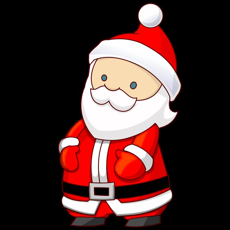 Cute Santa Clipart - Clipart Kid