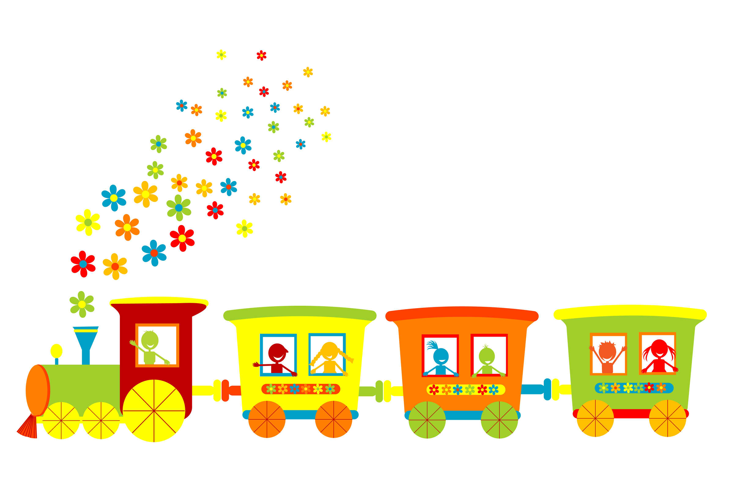 Train Track Border Clipart   Clipart Panda   Free Clipart Images
