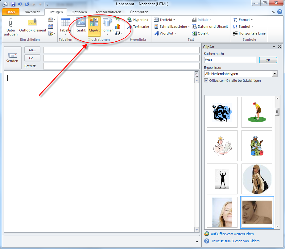 Microsoft Offic... Inserting Clipart In Word 2013