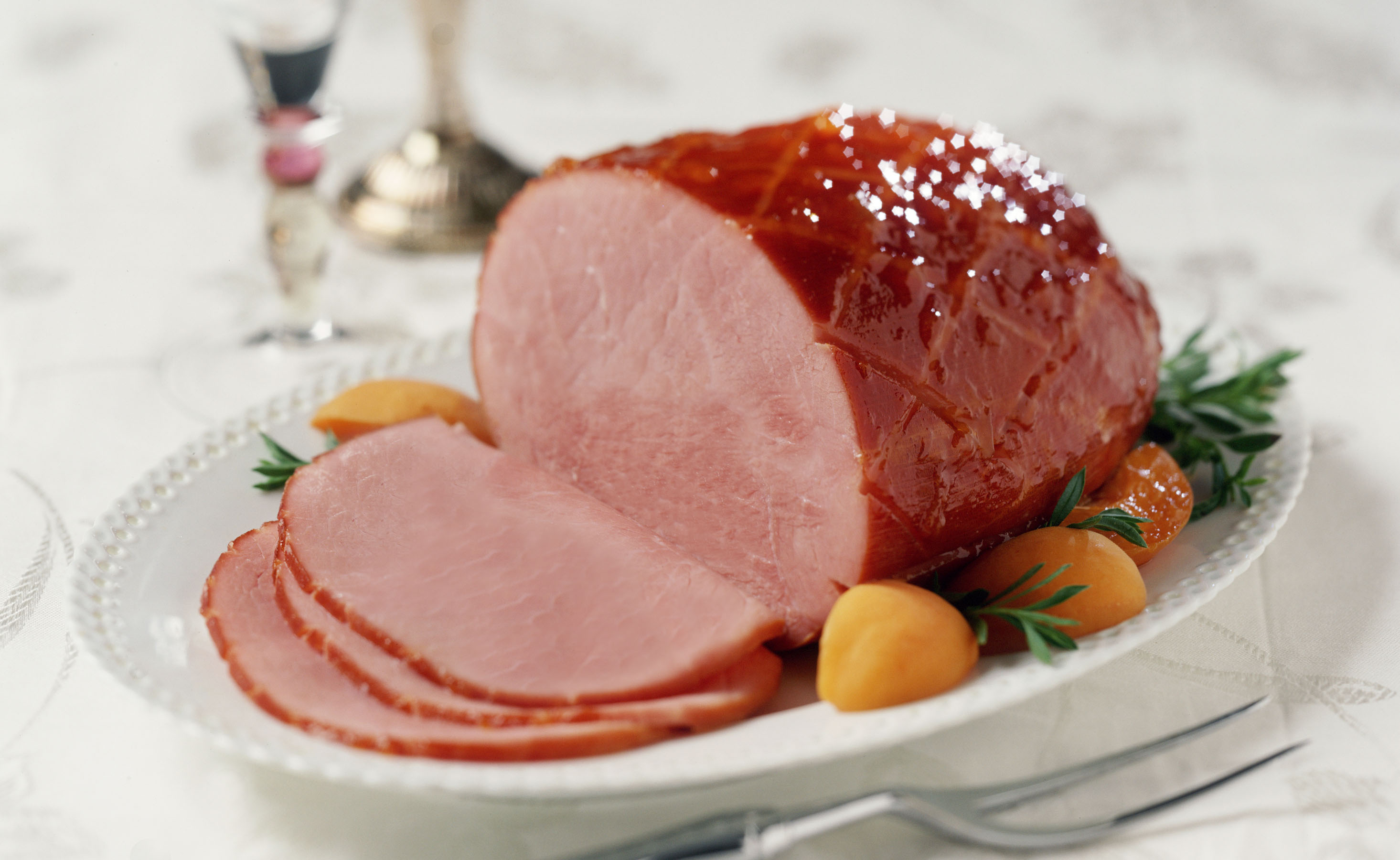 Apricot Glazed Ham And Tips For Buying And Preparing Ham   Old