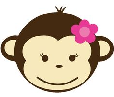 Baby Girl Monkey Clip Art   Clipart Panda   Free Clipart Images