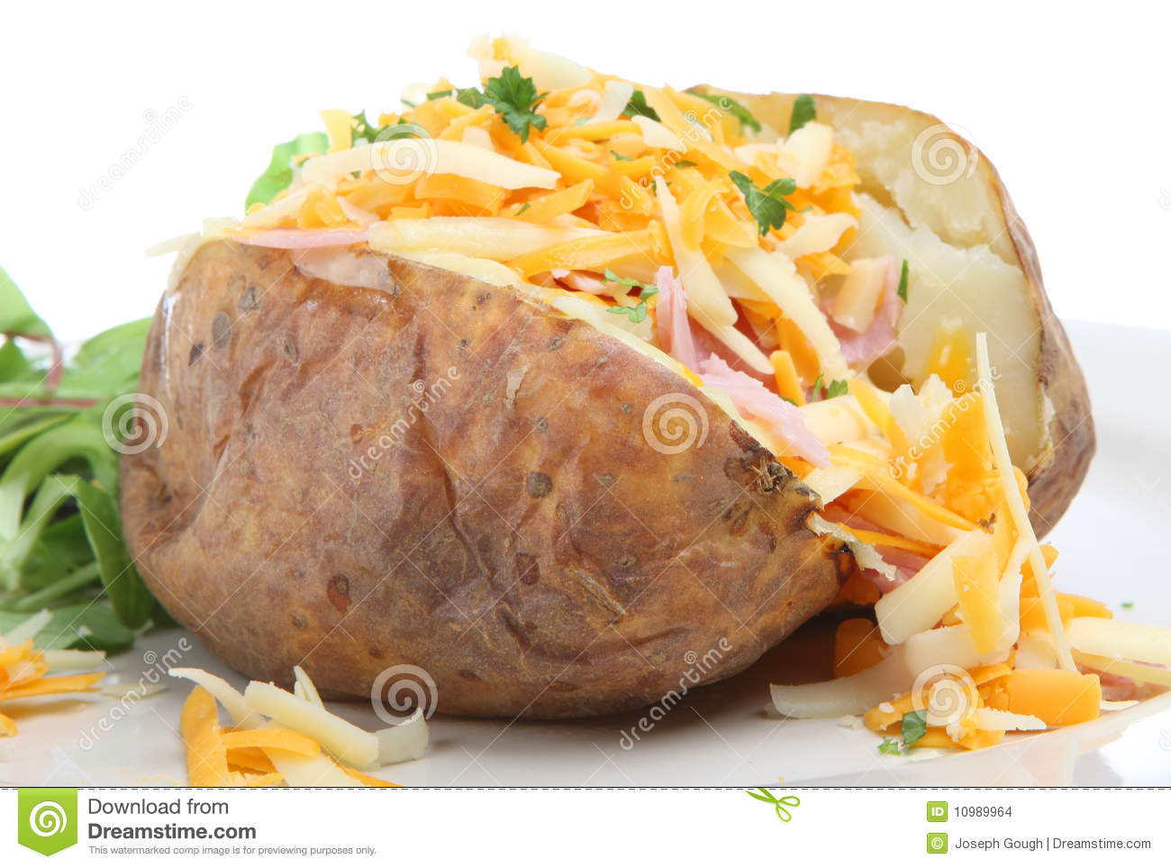 how to draw a baked potato