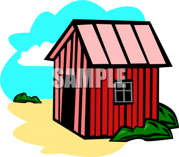 Cartoon Barn Clipart Image   Hinhjangnara