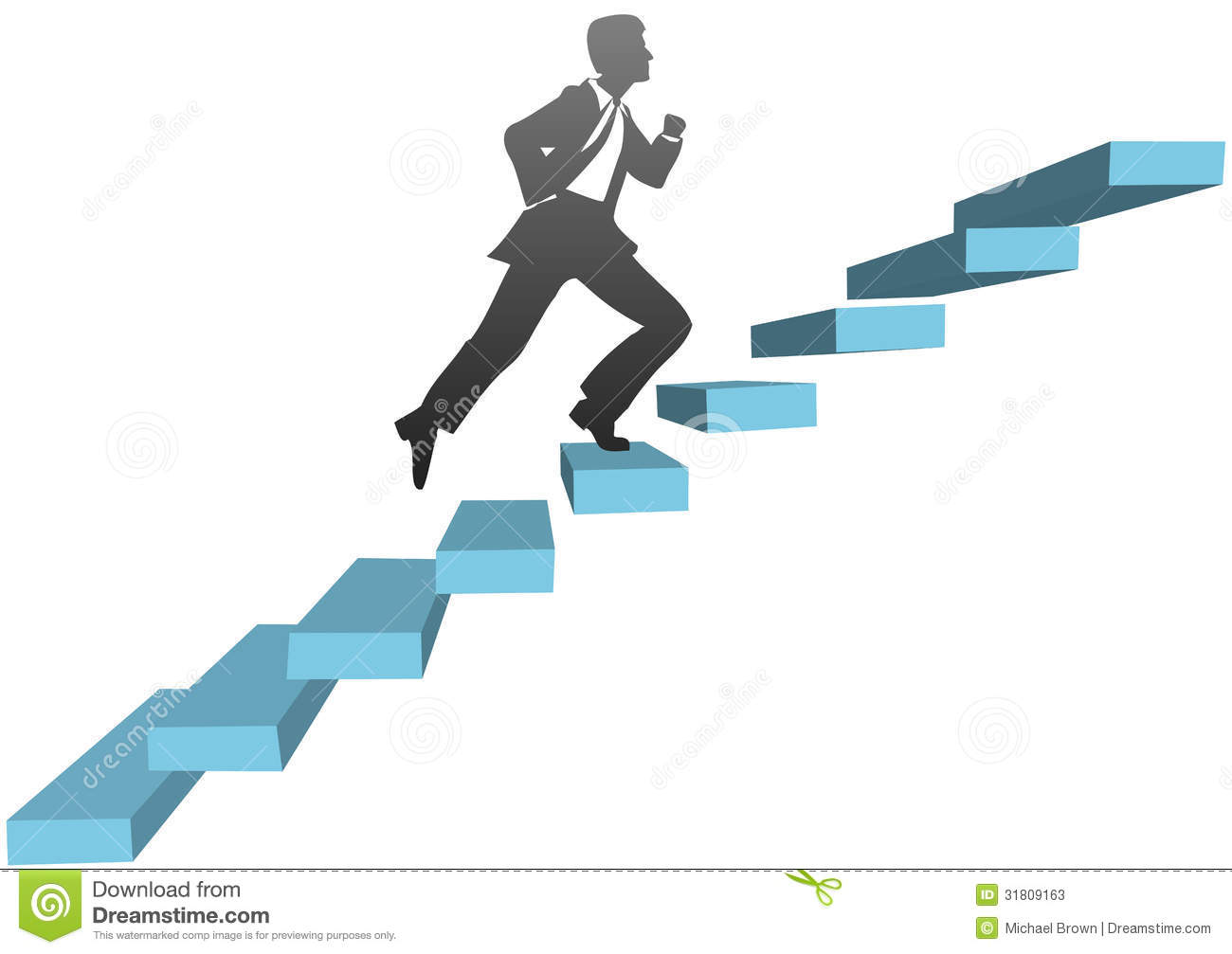 Climbing Up Stairs Clipart Climb Stairs Stock Photos