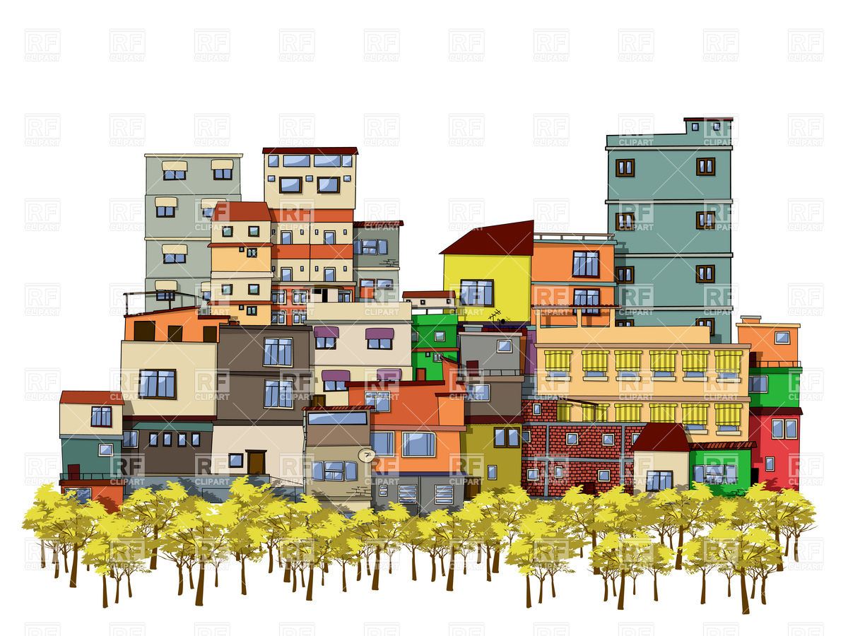 urban community map clipart clipart suggest