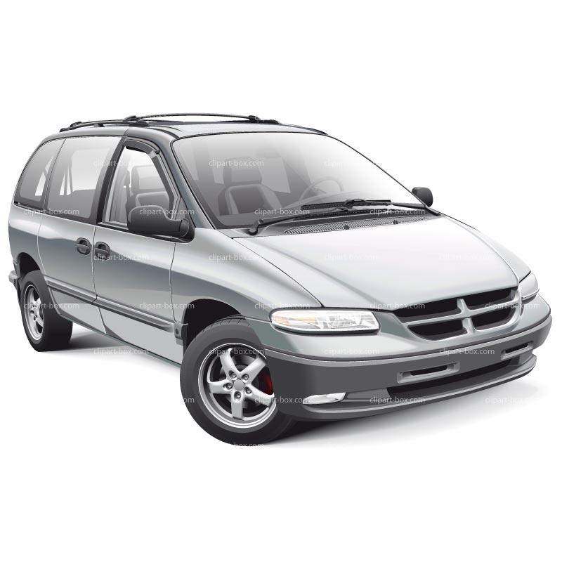New Minivan Clipart
