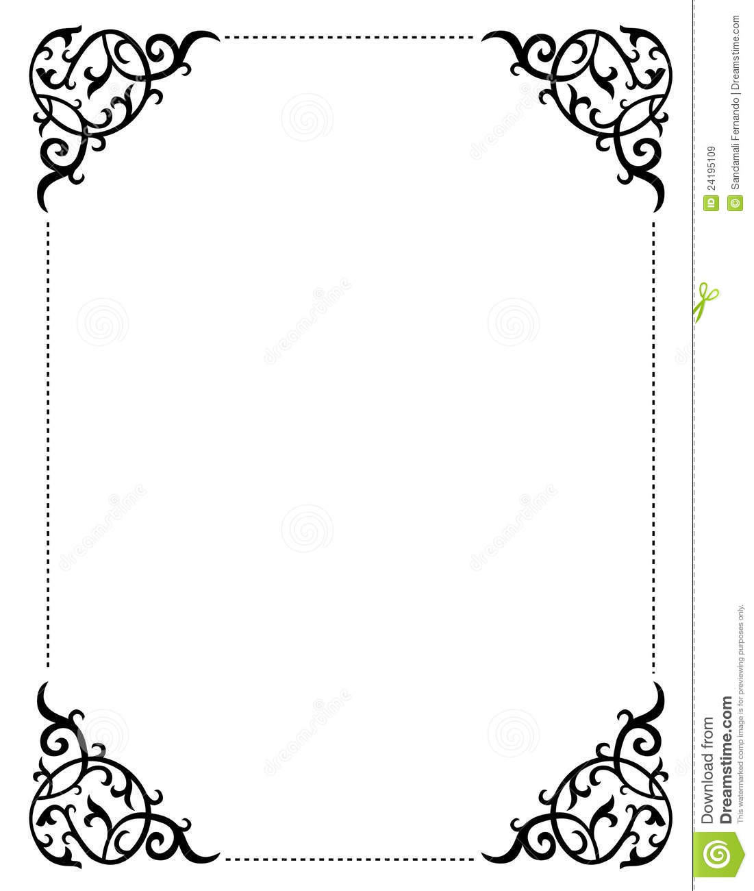 Invitation Frame Royalty Free Stock Image Image Image School Clipart