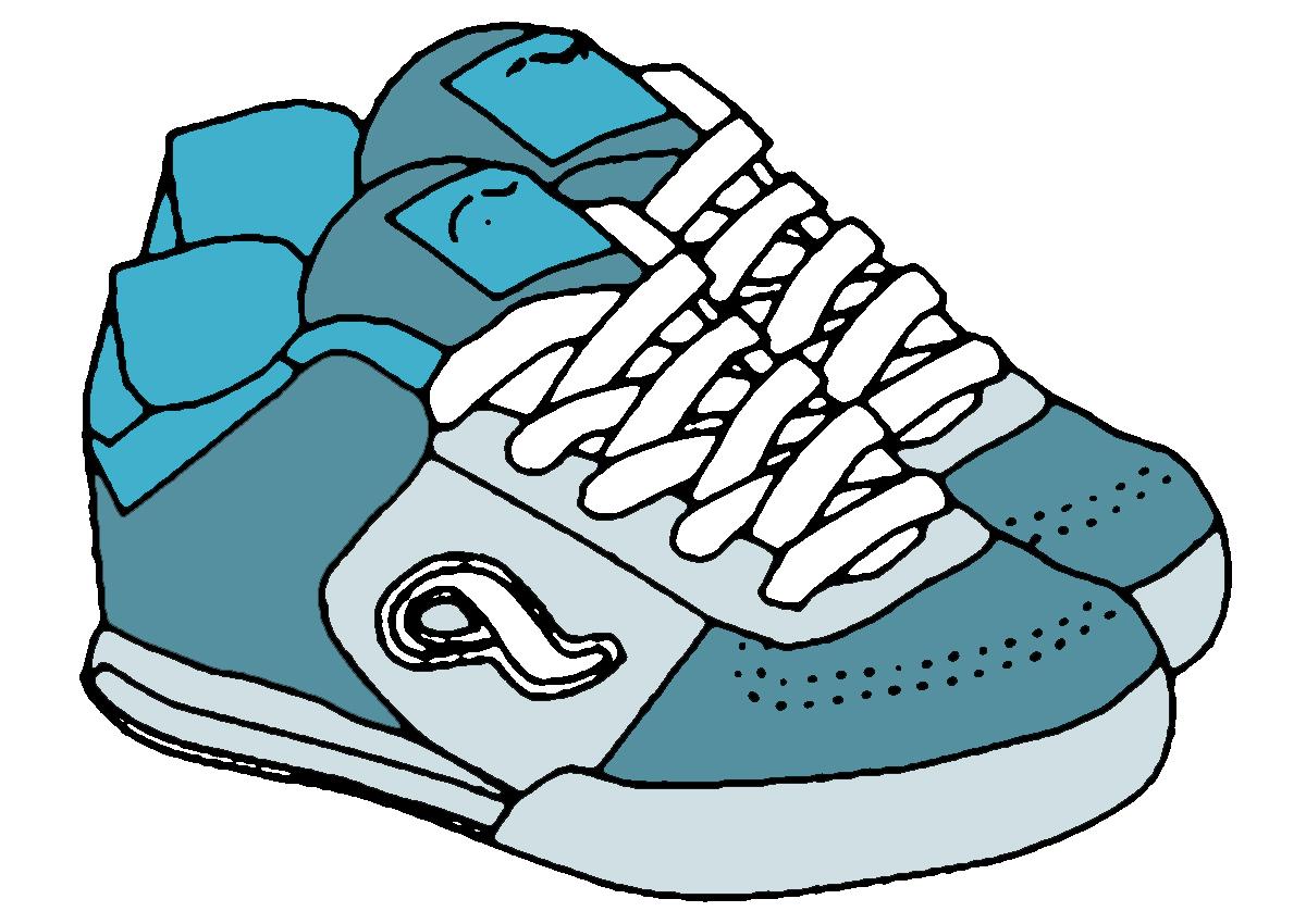 Shoe Border Clipart - Clipart Kid