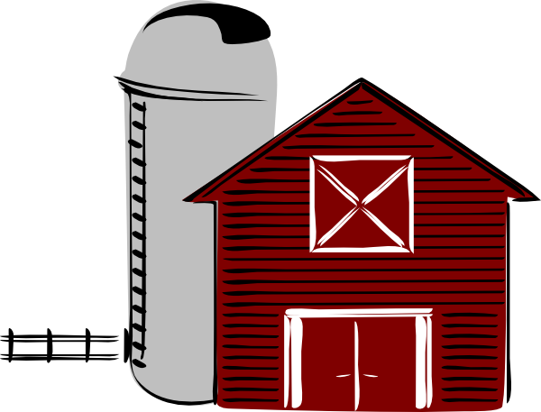Traditional Barn Clip Art   Vector Clip Art Online Royalty Free