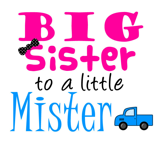 Welcome Baby Sister Quotes: Big Sister Little Sister Clipart