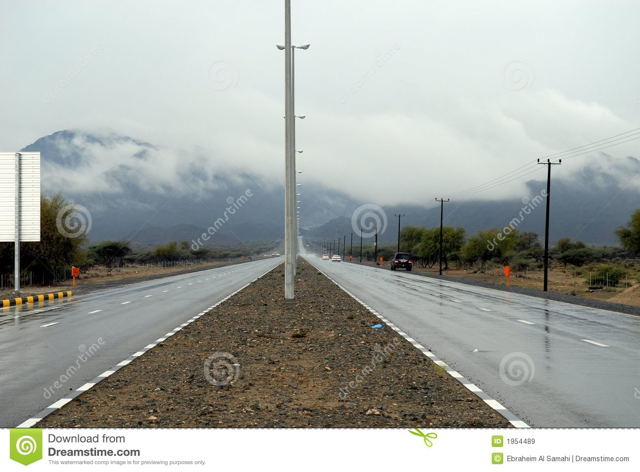 Wet Roads Royalty Free Stock Images   Image  1954489
