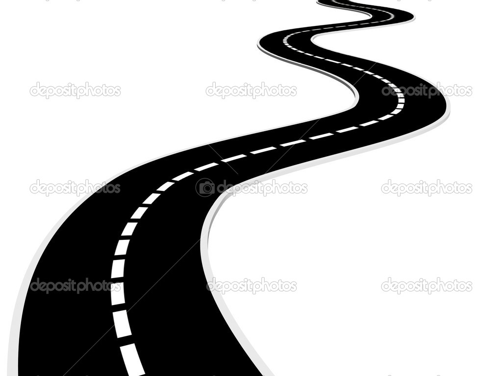 City Curved Road Clipart - Clipart Suggest