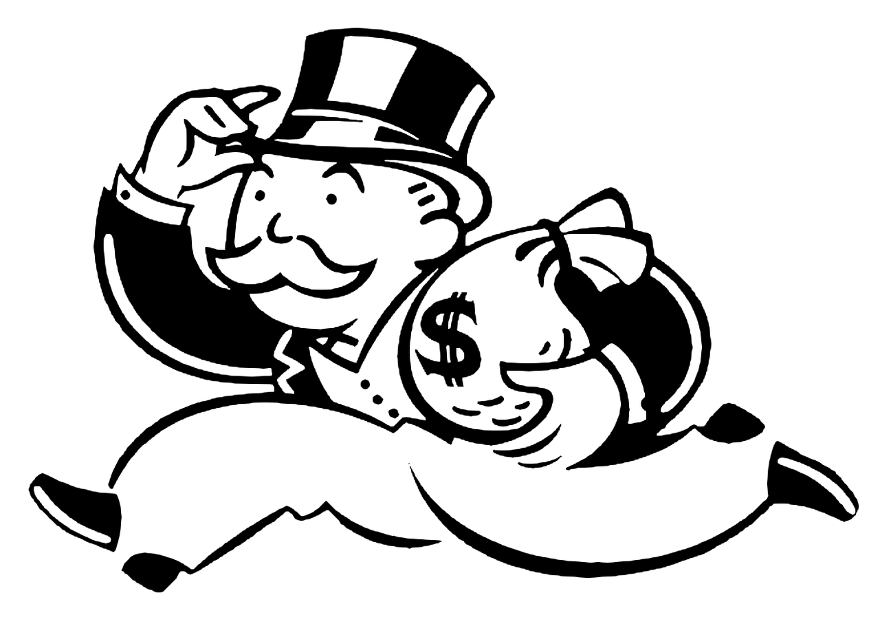 Monopoly Guy Clipart - Clipart Kid
