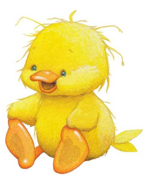 Spring Duck Clipart - Clipart Kid