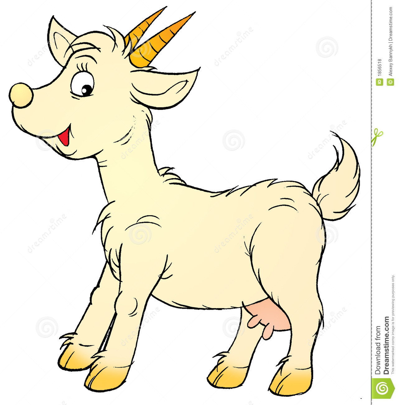Baby Goat Clipart - Clipart Suggest
