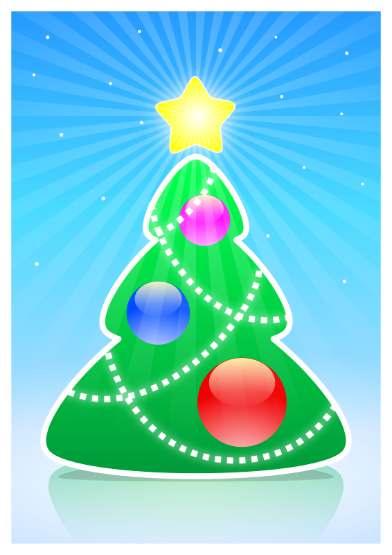 Christmas Tree 2014 By User9   Fun Stylized Christmas Tree  May Be