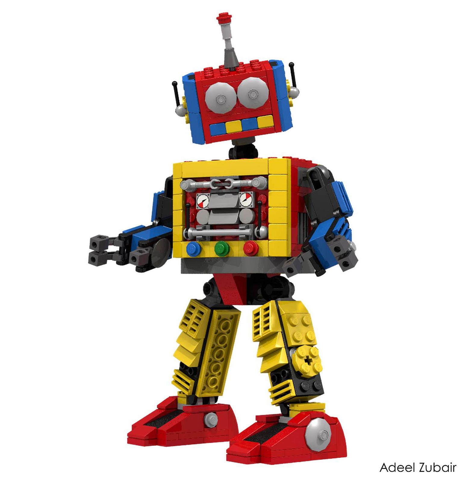 Роботы из лего своими руками