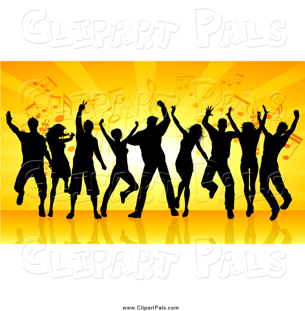 Dance Party Clipart - Clipart Kid