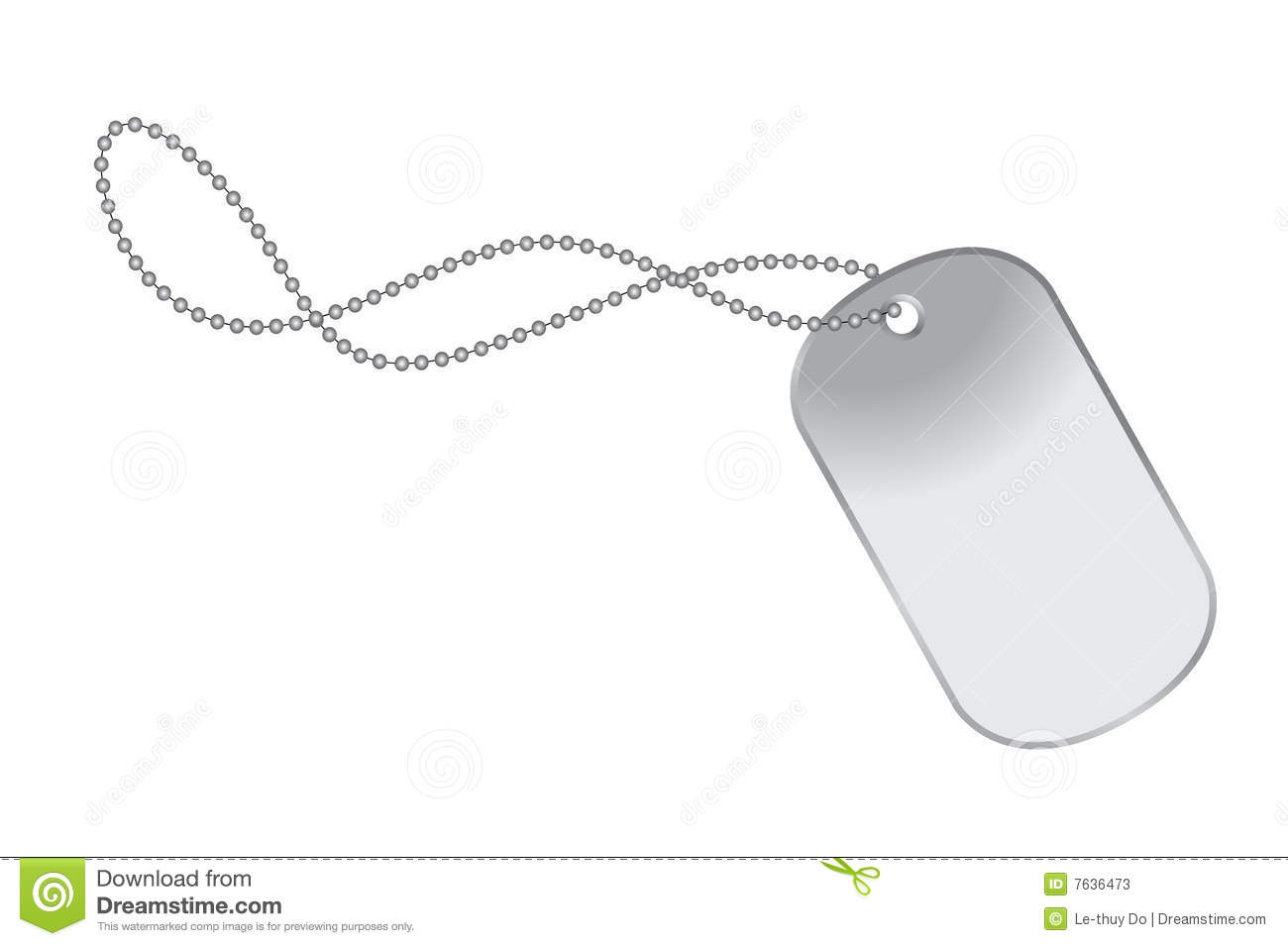 Dogtag Stock Photos   Image  7636473