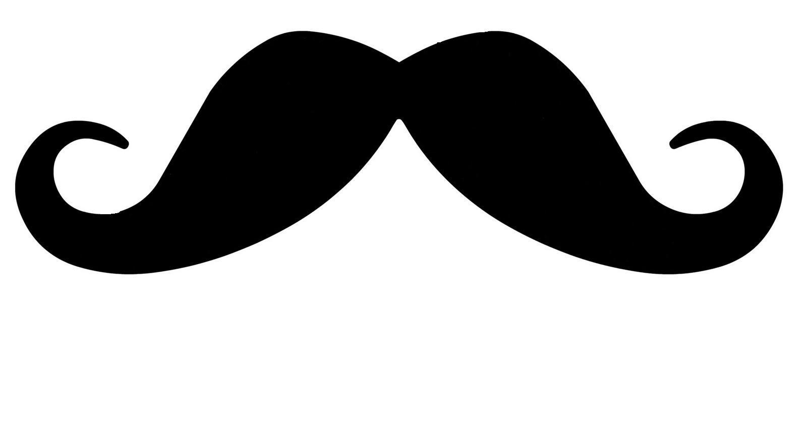 Mustache Outline Clipart - Clipart Kid