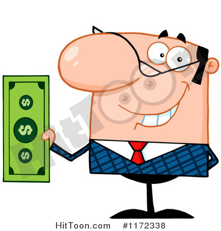 Payroll Processing Clipart Businessman Clipart  1172338