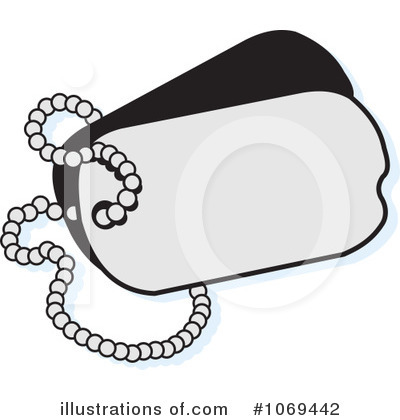 Royalty Free  Rf  Dog Tags Clipart Illustration  1069442 By Johnny